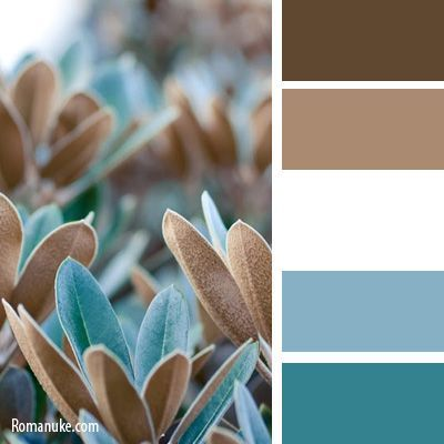 This color scheme would be nice. It isn't overly feminine, which would scare away male guests.