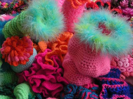 The Hayward, London | Crochet Coral Reef