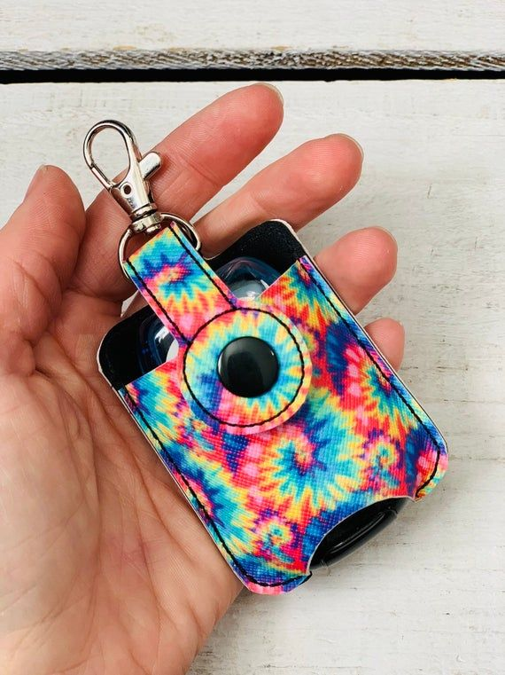 Tie Dye Hand Sanitizer Holder Hand Sanitizer Holder Hand