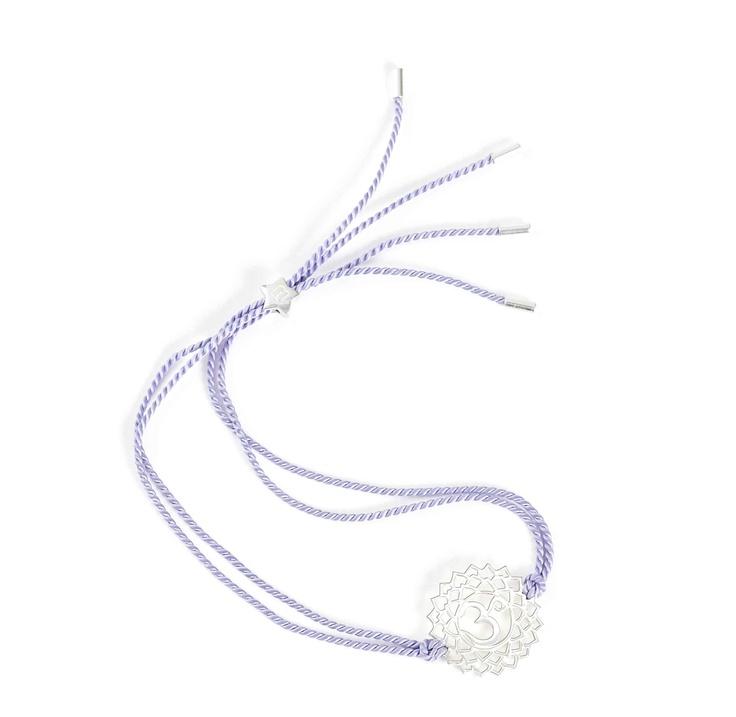Tara Wolf Crown Chakra bracelet