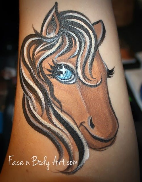 Painting a Horse or Unicorn  is a highly requested design at most parties or events and not every child or guest wants a full face desi...