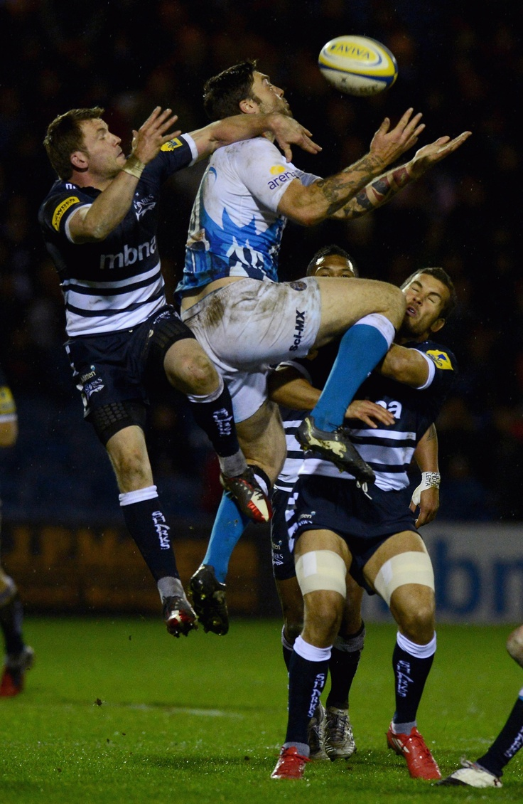 Sale Sharks vs Bath Rugby Aviva Premiership Match
