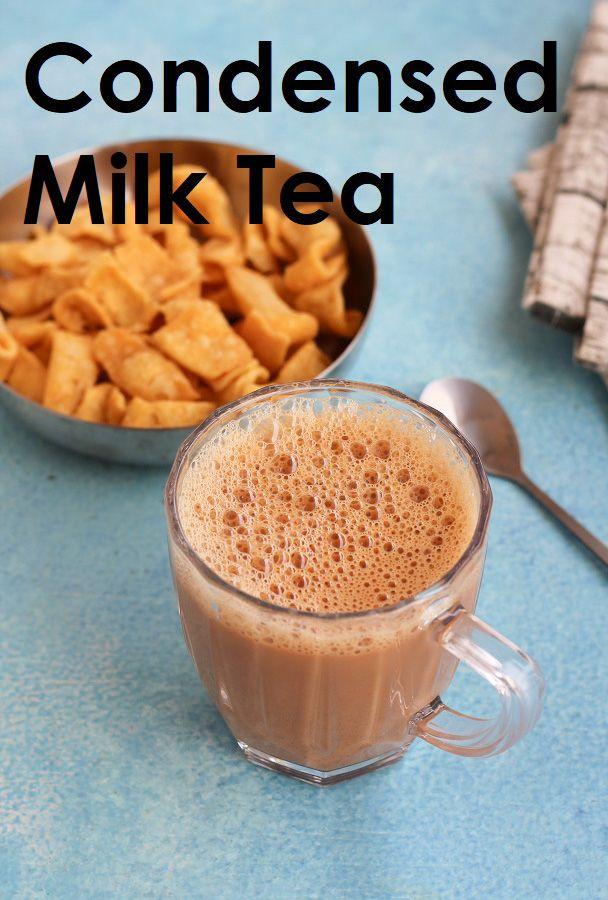 Condensed Milk Tea Teh Tarik Ann S Little Corner Recipe In 2020 Milk Tea Tea Recipes Condensed Milk