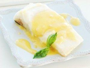 SousVide Supreme -  Halibut Citrus Beurre Blanc #sousvide