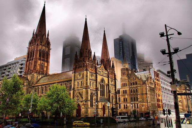 st. Paul cathedral (Melbourne) by violetaS_gr PRO(www.euphoriaphotography.com.au), via Flickr