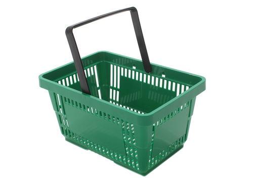 Great  21LTR Green Shopping basket