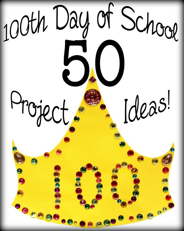 100 days of school poster board ideas   Like Mom And Apple Pie: 50 100th Day Of School Project Ideas