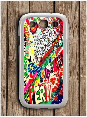 5 Sos Art Color Samsung Galaxy S3 Case
