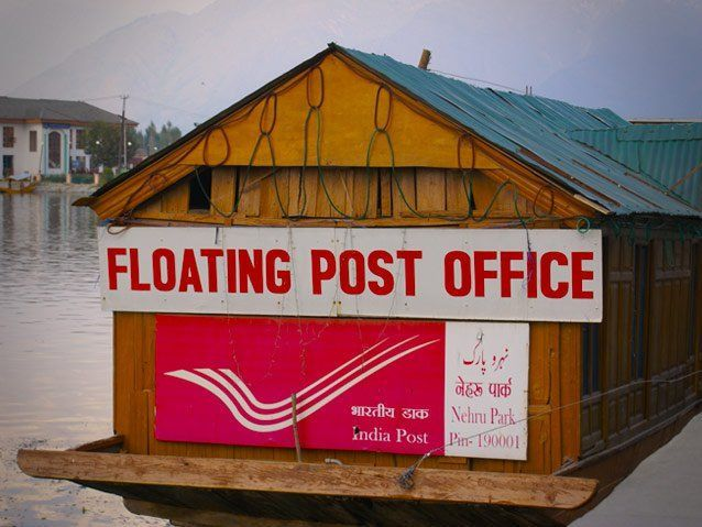With more than 1.5 lakh post offices spread across the country, India has the largest postal network in the world. There is also a floating postal office in #Srinagar that attracts the attention of visitors. Plan your #visit to #incredible #india- http://bit.ly/25LeWGt