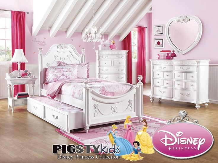 Disney Princess Twin Poster Bed