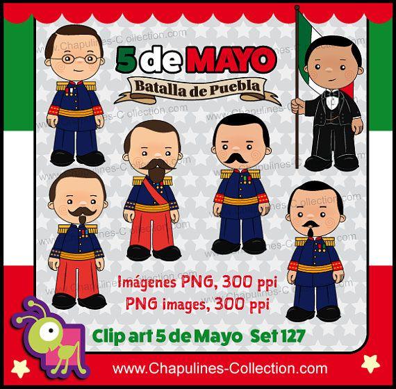 60% off 5 de Mayo Clipart school clipart Mexican history