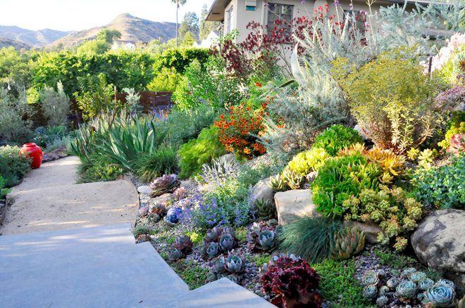 APLD garden tour in LA Garden photo and design: Johanna Woolcart