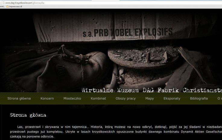 Wirtualne Muzeum DAG Fabrik Christianstadt - tylko zrzut ;(