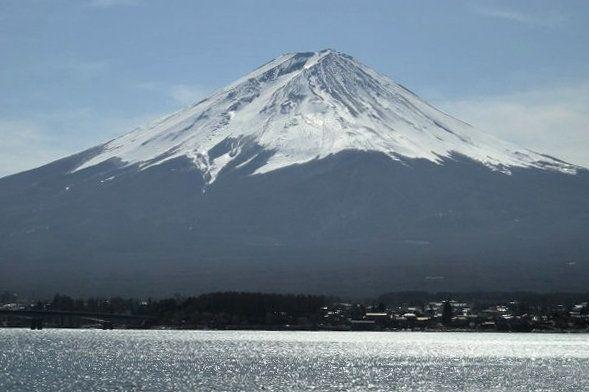 Monte Fuji, símbolo de Japón