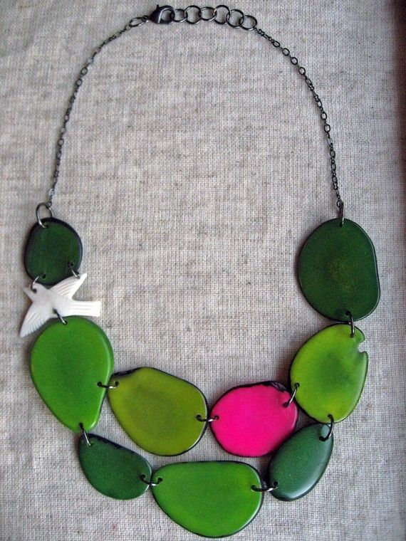 Its not quite a wishlist item - I actually have this necklace! (just replace the pink stone with a different color!)  Mom and I bought some of her jewelry at Custer State Park in South Dakota (of all places). I love it so much, I just wanted to share!