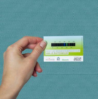 thermocard: meet de temperatuur van je muur en zie of je je huis beter kunt isoleren!