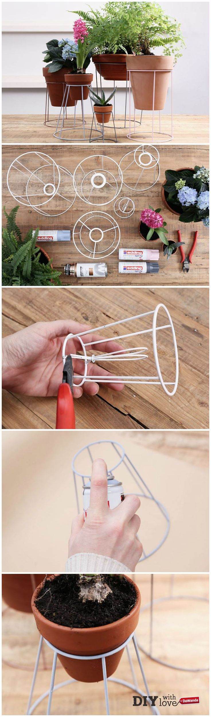 Oltre 1000 idee su Progetti Con Vasi Di Terracotta su Pinterest ...