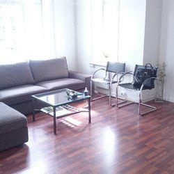 Sofagruppe til å sitte og vente i, eller for å diskutere prosjekter.