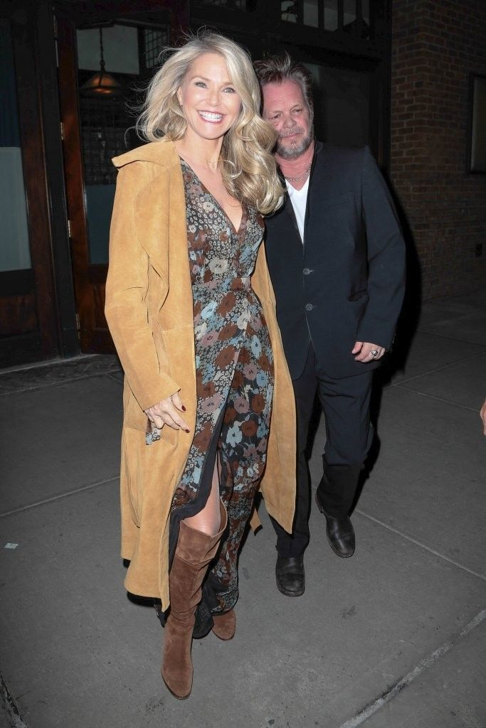 Christie Brinkley Photos: Christie Brinkley and John Mellencamp Go Out in NYC
