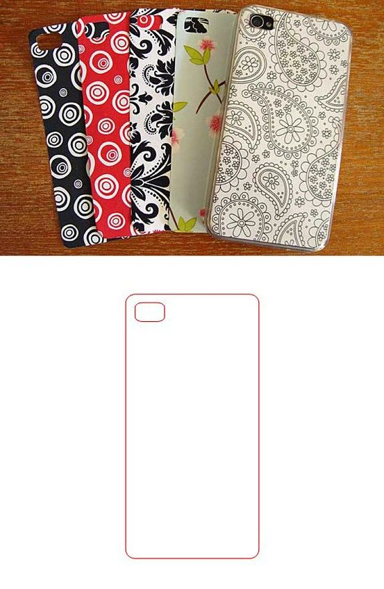 Free iphone case .studio cut file (to add patterns or photos to iphone cases) #Silhouette http://getsilveredcraft.blogspot.ca/2013/01/i-phone-4-case-insert-free-silhouette.html