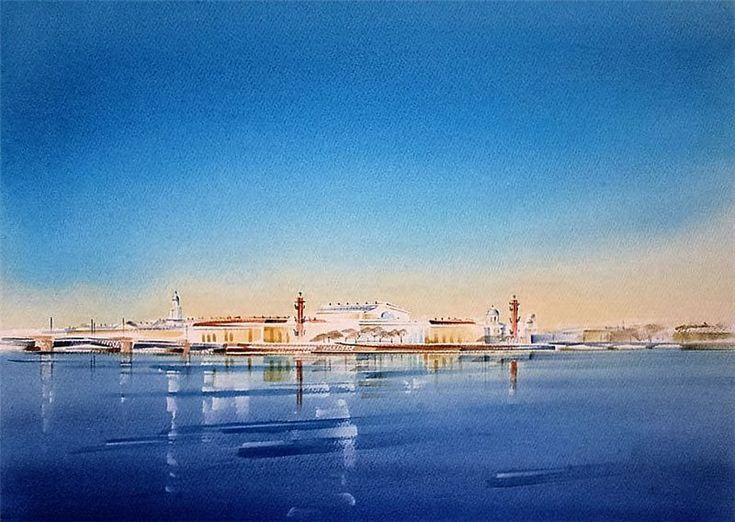 Акварельный Петербург. Обсуждение на LiveInternet - Российский Сервис…