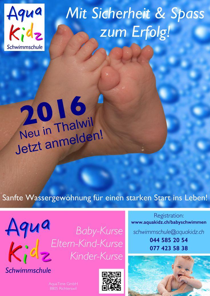 AquaBaby- und AquaKidz Mini (Eltern-Kind-Kurse) jetzt auch hier.