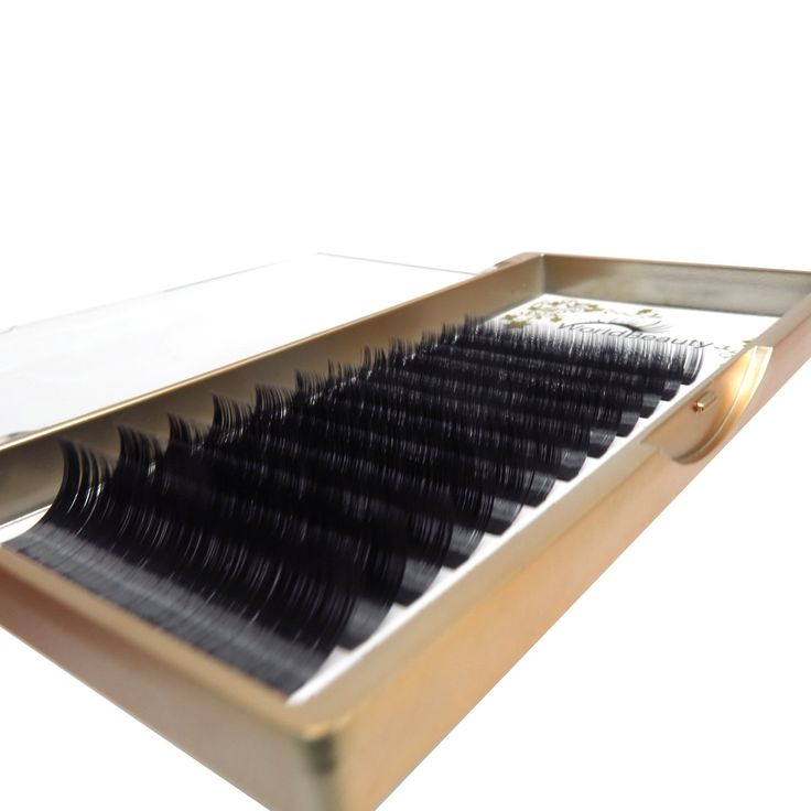 Volume Faux Mink Eyelash Extensions 0.07mm Thickness C Curl Mixed Trays Silk Individual Lash Extensions Soft Application for Professional Salon Use. 3D Volume Faux Mink Individual Lash Extensions. 100% Korean Soft PBT Fiber. Easy to Pick Easy to Fan. Primer Black no Blue. No Kinky Taper.