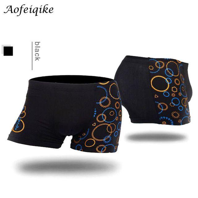Hot Wholesale Men Boxers Shorts Male Sexy Modal Printing Boxers Men's Underwear Boxeadores de los hombres Ropa interior