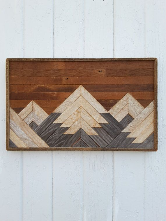 The 25 best small wood projects ideas on pinterest for Diy mountain shelf plans
