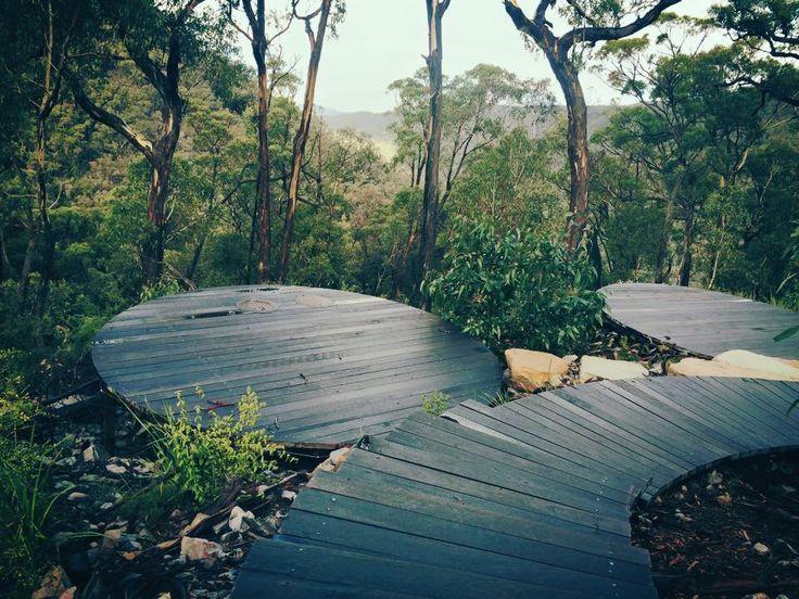 Bugiga Hiker Camp, Grampians Peaks Trail, Grampians National Park. Halls Gap, Victoria, Australia