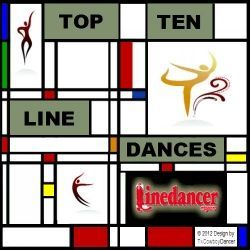 LineDancer Magazine: the Monthly Top Ten Most Popular Line Dances