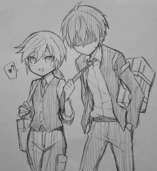 Nagisa and Karma