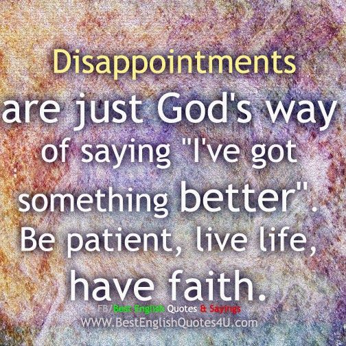 Best English Quotes & Sayings: You'll end up really disappointed if...