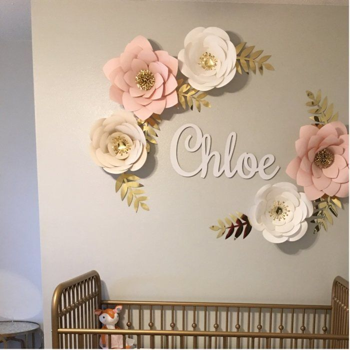 Pin By Emmaaruby On Decor In 2020 | Paper Flower Wall Decor, Flower Wall Decor, Paper Flower Wall