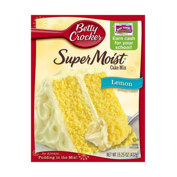 Betty Crocker Lemon Pound Cake Mix Recipes