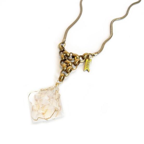 Rena Pyramid Necklace