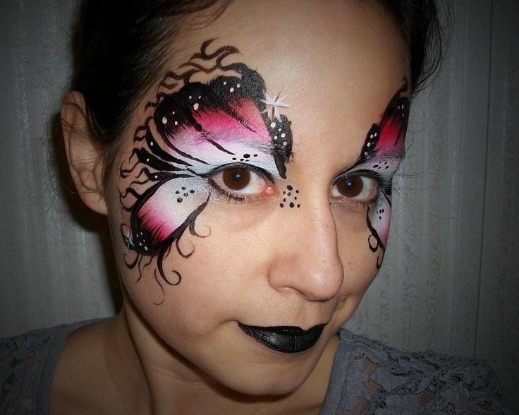 goth fairy face paint | Eyes | Pinterest | Jordans ... Gothic Fairy Makeup Designs