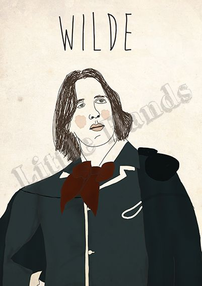 Wilde  Digital Illustration  * Printed in recycled 300g paper   * Size A3 ( 42cm x 29.7cm ) - If you are looking for other size please get in touch!  * We are more than happy to create custom work, if you have a request please get in touch and we will do everything in our power to make your life/walls complete.