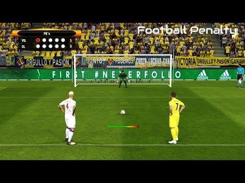 Villarreal vs Lyon | Penalty Shootout | PES 2017 Gameplay