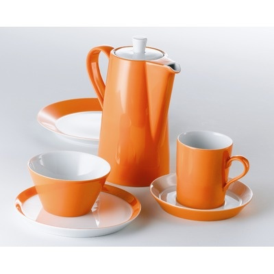 Arzberg Tric Dinnerware Collection in Fresh Bright Orange (from allmodern.com)