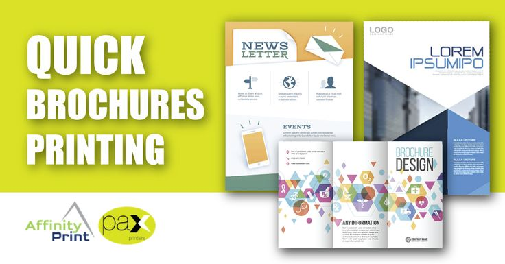 Choose fast digital and offset printing brochures for short run jobs with tight deadlines. #OffsetPrinting for #brochures in larger quantities and when you have longer turnaround times. #BrochuresPrinting #PrintingMelbourne #Flyers #Leaflets