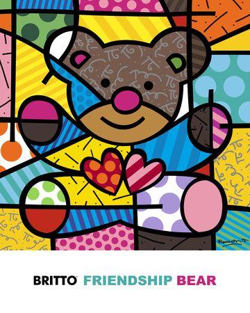 Romero Britto, Posters and Prints at Art.com