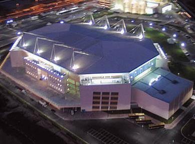 O HSBC Arena é a primeira arena multiuso do Brasil, e já recebeu shows de Eric Clapton, Iron Maiden e muitos outros