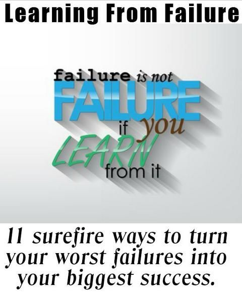 "essay about learning from failure The winning essay will receive a cash prize of $10,000 and will be published on  the ""from failure to promise"" website three runner-up essays will receive."