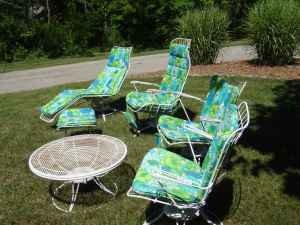 Homecrest Vintage Outdoor Furniture Beach Place Pinterest