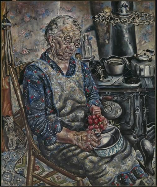 Ivan Albright, The Farmer\'s Kitchen, ca. 1934 | american magic ...