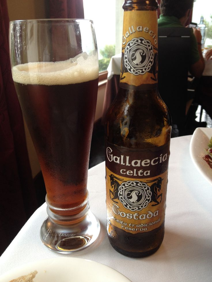 Gallaecia, beer made in Czech Rep