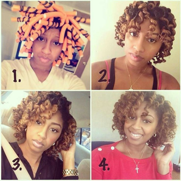 32 best Flexi Rods for natural hair and perms images on