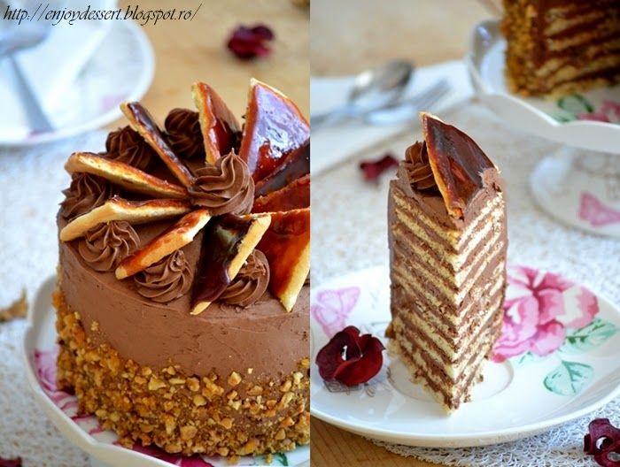 Enjoy Dessert!: Tort Dobos - Dobos Torte