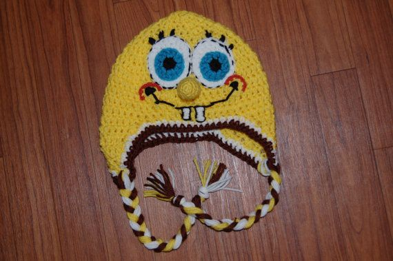 26 Best Images About Crochet Sponge Bob On Pinterest